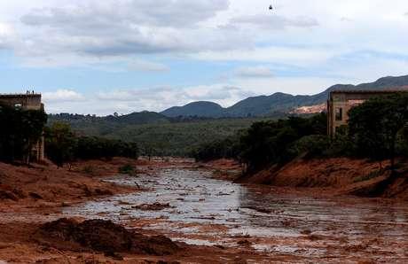 Área atingida por lama de barragem da Vale em Brumadinho 27/01/2019 REUTERS/Adriano Machado