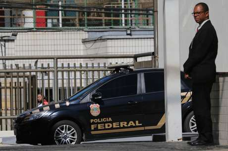 Viatura da Polícia Federal em operação