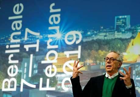 Diretor do Festival de Cinema de Berlim, Dieter Kosslick, durante entrevista coletiva  29/01/2019 REUTERS/Fabrizio Bensch