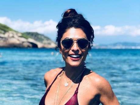 Juliana Paes vai completar 40 anos em março e procura exibir um corpo enxuto e malhado