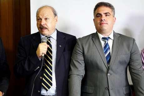 José Carlos Peres e Orlando Rollo, em imagem de arquivo (Foto: Pedro Ernesto Guerra)