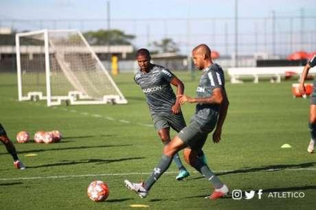 Jair quer aproveitar a chance de começar uma partida como titular pela primeira vez no Galo- Bruno Cantini/Atlético-MG