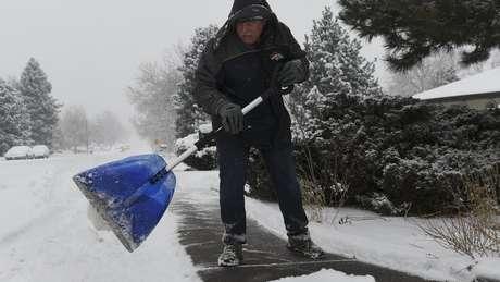 Prevê-se que dezenas de milhões de pessoas experimentem temperaturas abaixo de zero.
