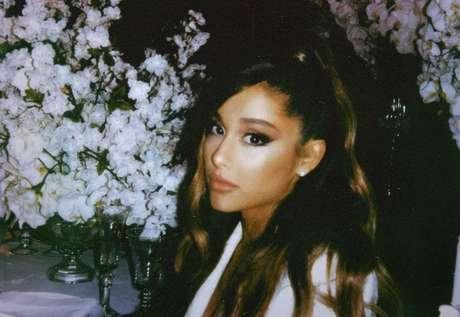 A cantora Ariana Grande.