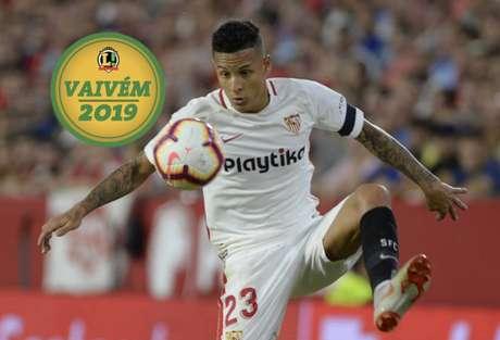 Arana deve permanecer no Sevilla nesta temporada (Foto: CRISTINA QUICLER/AFP)