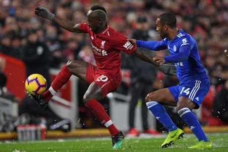 Mané foi o destaque do Liverpool com o gol marcado (Foto: AFP)