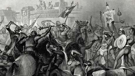 O contato com os europeus foi catastrófico de diversas maneiras para o povo das Américas