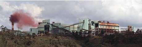 A cidade de Nova Lima temquatro minas da Vale.