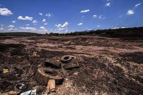 Barragem de rejeitos de mineração se rompeu no dia 25 de janeiro