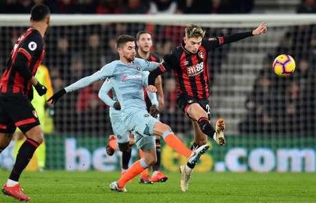 Chelsea perdeu para o Bounermouth por 4 a 1 (Foto: AFP)