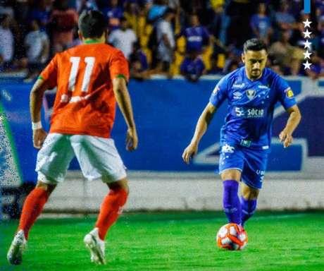 A Raposa não conseguiu se impor no duelo e está na vice-liderança do Mineiro (Foto:Reprodução)