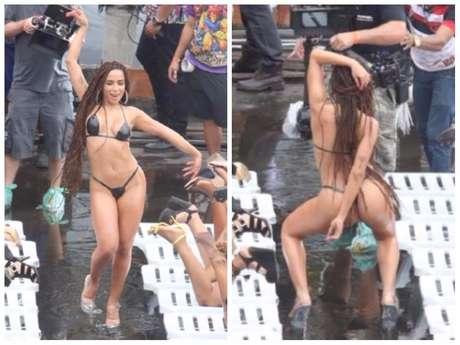 """Anitta no clipe de """"Vai Malandra"""" (Fotos: AgNews)"""