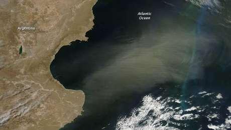 Gassó também estuda o impacto da poeira fria que se produz, por exemplo, na Patagônia