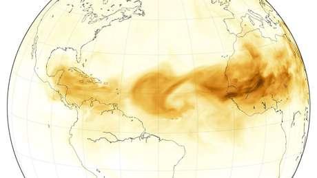 Com nutrientes usados pelas plantas, como fósforo e nitrogênio, poeira ajuda a fertilizar terras da Amazônia