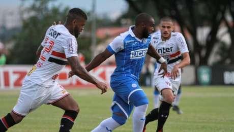 Último jogo (17/1/2018) - São Bento 2x0 São Paulo