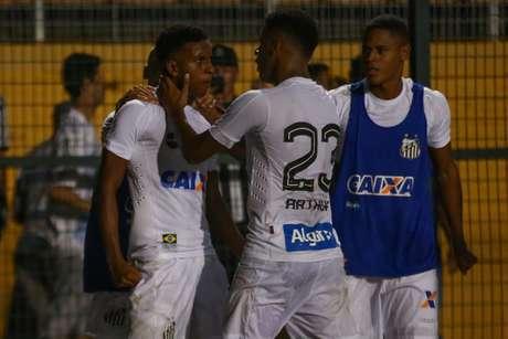 No duelo de 2018, Rodrygo marcou o gol de empate nos últimos minutos, no Pacaembu (Jales Valquer/Fotoarena)