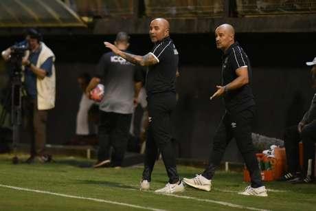 Jorge Sampaoli deve poupar Luiz Felipe contra o Ituano, neste domingo, pelo Paulistão (Foto: Ivan Storti/Santos)