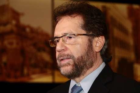 Senador eleito Plinio Valerio (PSDB) durante a cerimônia de diplomação pelo Tribunal Regional Eleitoral do Amazonas
