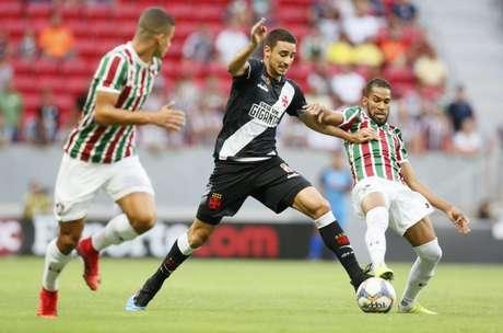 Thiago Galhardo pode atuar ao lado de Bruno César (Foto: Rafael Ribeiro/Vasco)