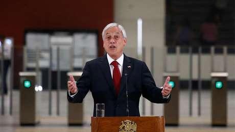 'Sabemos que hoje as aposentadorias são muito baixas e inferiores às expectativas de nossos idosos', disse o presidente chileno durante anúncio de proposta de reforma da Previdência, em outubro de 2018