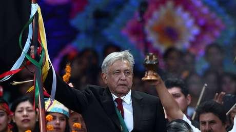 Andrés Manuel López Obrador tomou posse como presidente do México em dezembro de 2018