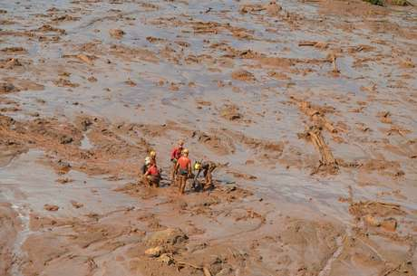 Brumadinho - Lama cobriu edificações inteiras próximas à barragem da mina do Córrego do Feijão, em Brumadinho.