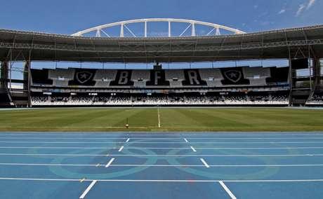 Primeiro jogo do confronto contra o Defensa y Justicia será no Nilton Santos (Foto: Vitor Silva / SS Press / BFR)
