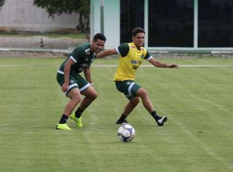 Jogador sentiu uma lesão muscular durante a pré temporada (Foto: Divulgação/ Coritiba)