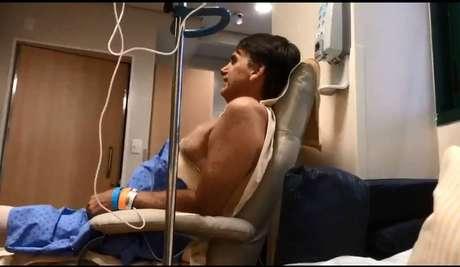 Jair Bolsonaro no Hospital Albert Einstein