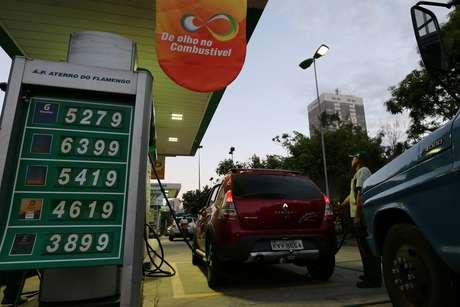 Posto de combustível no Rio de Janeiro 29/05/2018 REUTERS/Sergio Moraes