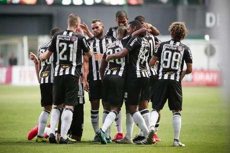 Galo comemora gol no Campeonato Mineiro (Bruno Cantini/Atlético-MG)