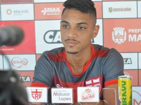 Hudson quer time do CRB focado nas três competições que disputa (Foto: Gustavo Henrique/CRB)