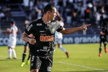 Ricardo já tem sete gols na temporada 2019 e mostrou faro de artilheiro contra o Danúbio- Bruno Cantini / Atlético