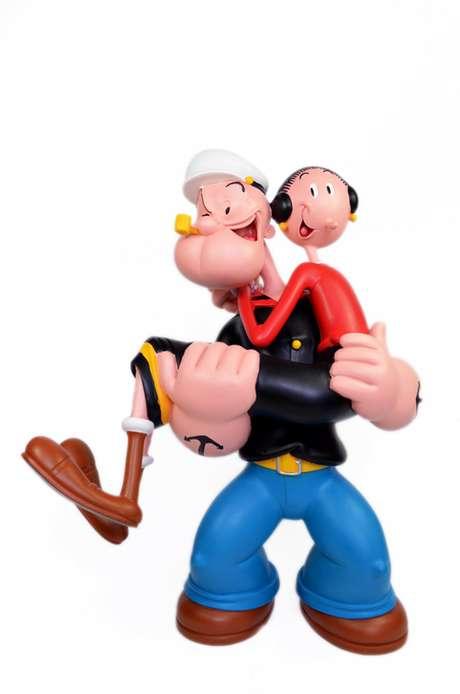 Marinheiro Popeye e Olívia Palito