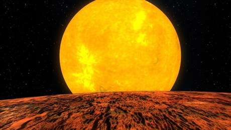 Descoberta foi feita a partir de observações de um sistema estelar a 1,6 mil anos-luz de distância