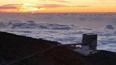As observações foram feitas no Telescópio Nacional Galileu, nas Ilhas Canárias
