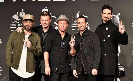 'Backstreet Boys' alcança topo da lista da Billboard nos EUA.