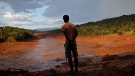 Avalanche de lama percorreu 9 km até chegar ao rio Paraopeba
