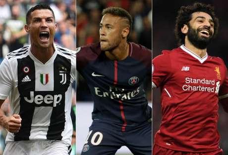 Juventus, PSG e Liverpool estão entre os dez melhores aproveitamentos da elite europeia (Foto: Reprodução/AFP)