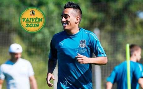 Christian Cueva está perto de ser anunciado pelo Santos. Meia já assinou contrato com o Peixe (Divulgação)
