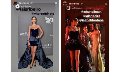 Lais Ribeiro (Fotos: Reprodução/Instagram/@LaisRibeiro)