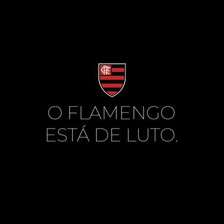 Incêndio tomou conta das instalações do Flamengo nesta sexta-feira (Foto: Reprodução/Twitter)