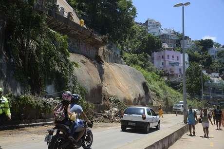 Avenida Niemeyer é parcialmente liberada