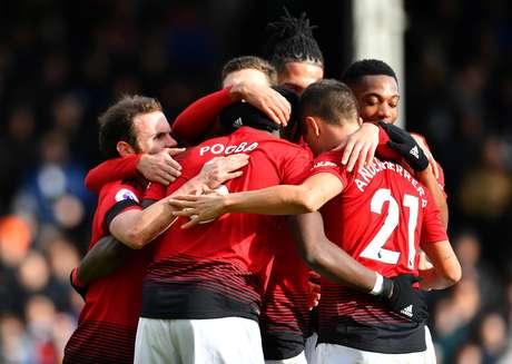 Manchester United venceu o Fulham