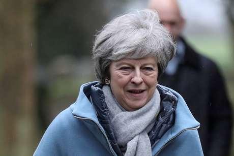 May promete a parlamento nova discussão sobre Brexit