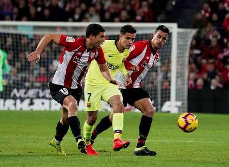 Barcelona empatou com o Athletic Bilbao em 0 a 0