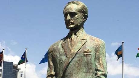Estátua foi exibida na abertura anual da conferência da União Africana