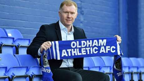Paul Scholes é onovo técnico do Oldham Athletic