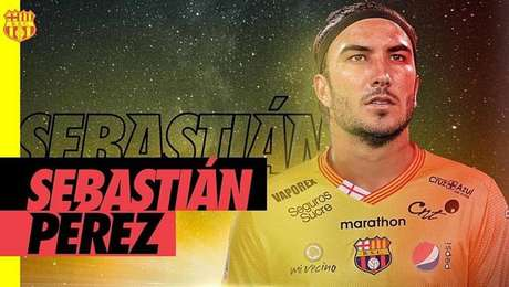 Conmebol entendeu que Sebastián Pérez não foi inscrito na competição no prazo correto