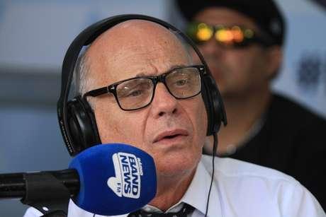 O apresentador Ricardo Boechat